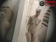 Hidden Camera in public shower Part #29. These people have no idea they were recorded while showering.